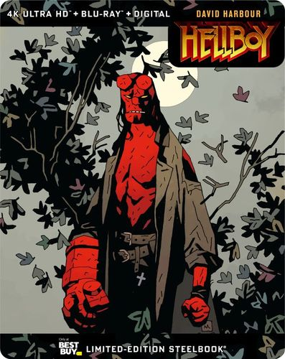 Hellboy [SteelBook] [Includes Digital Copy] [4K Ultra HD Blu-ray/Blu-ray] [Only @ Best Buy] [2019]