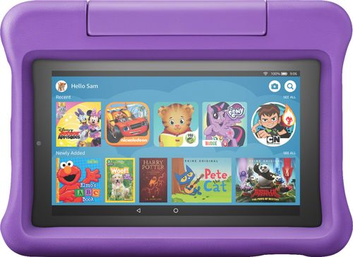 Amazon B07H936BZT Fire 7 Kids 7u0022 Tablet 16GB Includes KidProof Purple Case