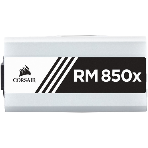 CORSAIR - RMx Series 850W ATX12V 2.4/EPS12V 2.92 80 Plus Gold Modular Power Supply - White