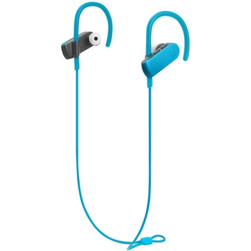 Audio-Technica ATH-SPORT50BT BT 4.1 6hrs Sweatproof Blue
