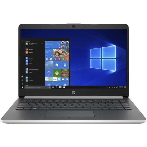 HP Laptop 14-df1020nr, Core i3-8145U, 4GB DDR4, 128GB M.2 SSD, Intel UHD Graphics 620, Windows 10 Home in S mode, Natural Silver and Ash Silver