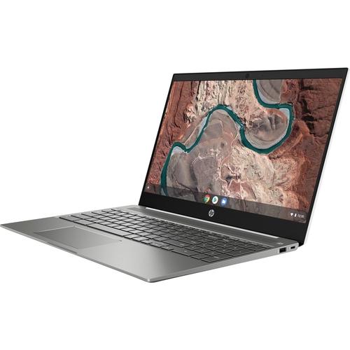 HP Chromebook 15-de0010nr, Pentium Gold 4417U, Intel HD Graphics 610, 64 GB eMMC, 4GB DDR4, 6JA25UA#ABA
