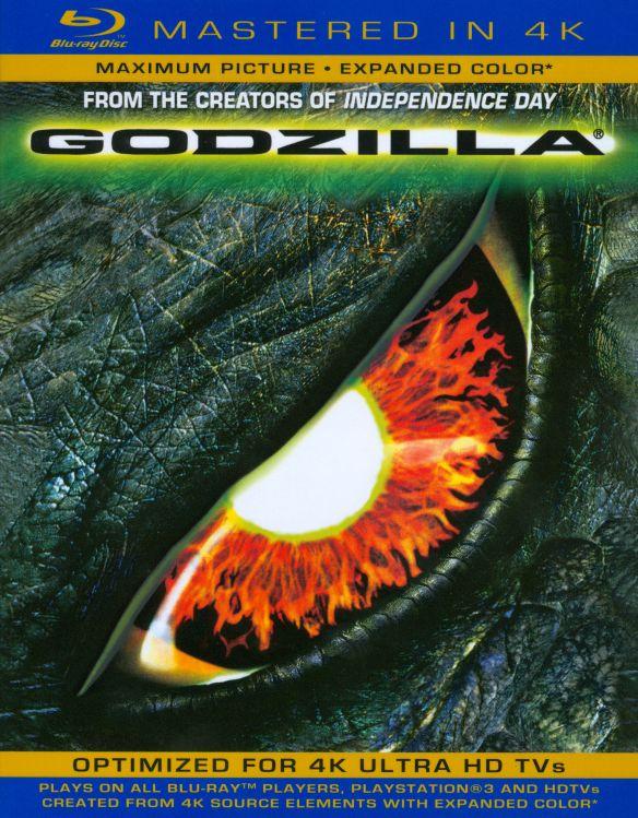 Godzilla [Includes Digital Copy] [UltraViolet] [Blu-ray] [1998] 6354014