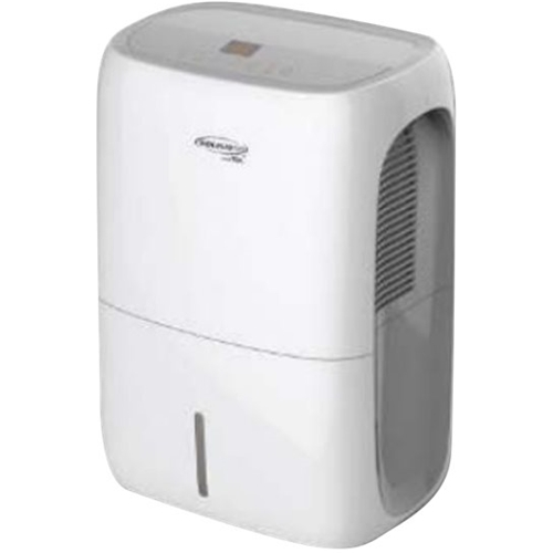 Soleus Air - 70-Pint Smart Dehumidifier - White Includes integrated pump and drain hose connectionFull bucket indicator; frost protectionAdjustable humidistat