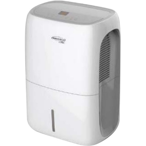 Soleus Air - 70-Pint Smart Dehumidifier - White Includes drain hose connectionEnergy Star CertifiedFull bucket indicator; frost protectionAdjustable humidistat