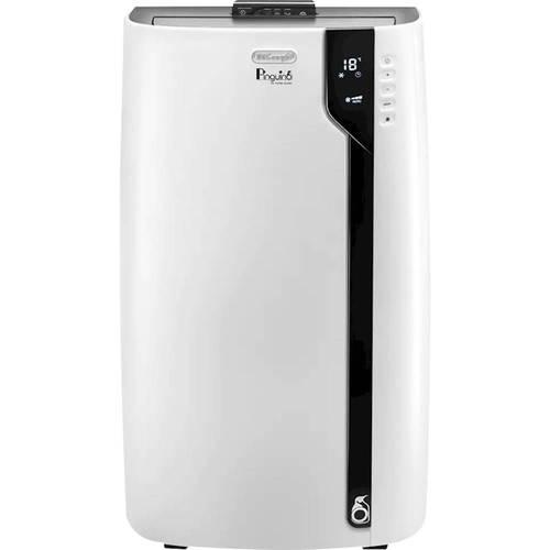 DeLonghi - Pinguino 600 Sq. Ft. Portable Air Conditioner - White With Black