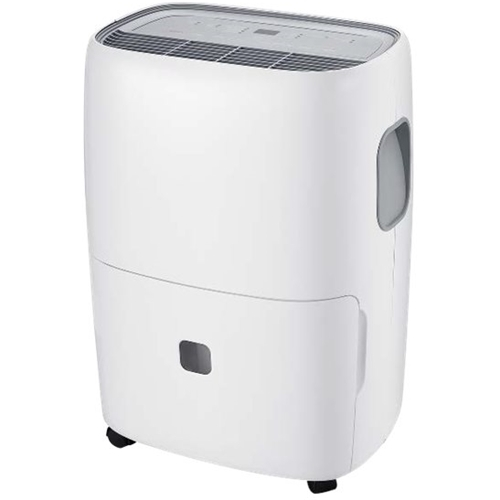 TCL - 50.1-Pint Portable Dehumidifier - White Includes drain hose connectionEnergy Star CertifiedFull bucket indicator; frost protectionAdjustable humidistat