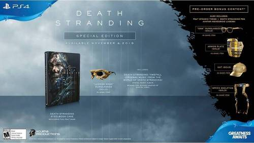 Death Stranding: Special Edition - PlayStation 4