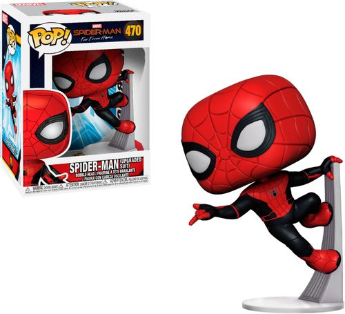 Funko POP! Marvel: Spider-Man: Far From Home - Spider-Man (Upgraded Suit)