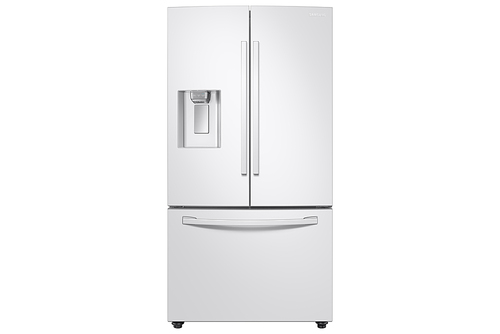 Samsung 23 cu. ft. 3-Door French Door Refrigerator in White with CoolSelect Pantry, Counter Depth