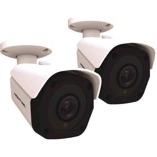 Night Owl Wired 4K Ultra High Definition IP Cameras, 2PK