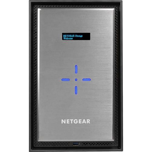 NETGEAR - ReadyNAS 8-Bay External Network Storage (NAS) Intel Xeon 2.2GHz quad-core processor8GB DDR4 with ECCUp to 20 Gbps data access3x USB 3.02x Gigabit LAN2x 10-Gigabit LANeSATAKensington security slotMultiple RAID options
