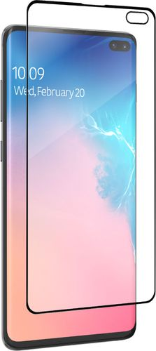 ZAGG - InvisibleShield Hybrid Glass Screen Protector for Samsung Galaxy S10+ - Clear