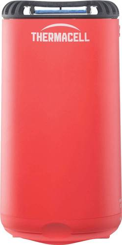 Thermacell - Patio Shield Mosquito Repeller - Fiesta Red Thermacell fuel-powered technology; 15' zone of protection; d-cis/trans allethrin active ingredient; scent- and DEET-free; includes integrated mat storage