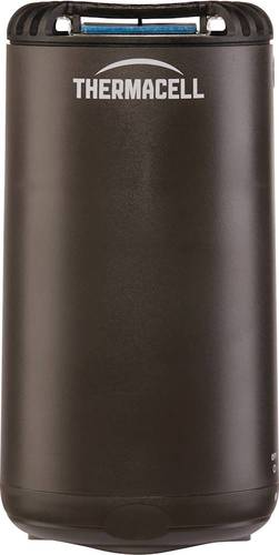 Thermacell - Patio Shield Mosquito Repeller - Graphite Thermacell fuel-powered technology; 15' zone of protection; d-cis/trans allethrin active ingredient; scent- and DEET-free; includes integrated mat storage