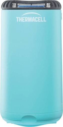 Thermacell - Patio Shield Mosquito Repeller - Glacial Blue Thermacell fuel-powered technology; 15' zone of protection; d-cis/trans allethrin active ingredient; scent- and DEET-free; includes integrated mat storage