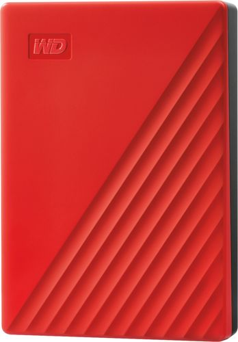 Western Digital My Passport 4TB - Red