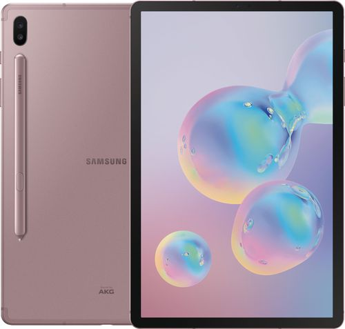 "SAMSUNG Galaxy Tab S6 10.5"" 128GB WiFi Android 9.0 Pie Tablet Rose Blush S Pen - SM-T860NZNAXAR"