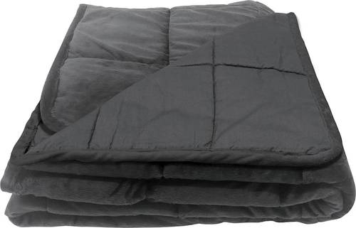 Bell + Howell Weighted Blanket with Glass Beads Filling for Calm Deep Sleep, 12 lbs, As Seen on TV