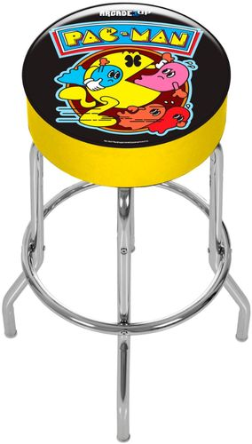 Pac-Man Adjustable Stool, Arcade1UP