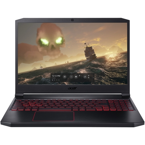 Acer Nitro 7 AN715-51-70TG 15.6u0022 Gaming Notebook - 1920 x 1080 - Core i7 i7-9750H - 8 GB RAM - 256 GB SSD - Black - Windows 10 Home 64-bit - NVIDIA GeForce GTX 1050 with 3 GB - In-plane Switching