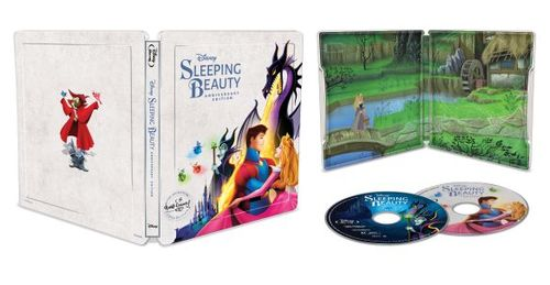 Sleeping Beauty [Signature Collection] [SteelBook] [Digital Copy] [Blu-ray/DVD] [Only Best Buy] [1959]