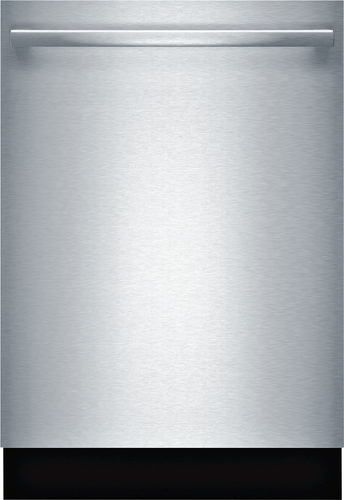 "Bosch - Ascenta 24"" Tall Tub Built-In Dishwasher with Stainless-Steel Tub - Stainless steel"