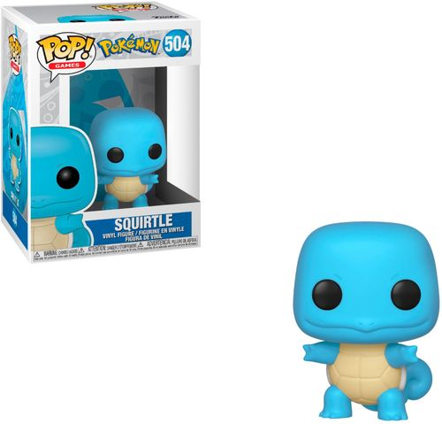 Funko POP! Games: Pokemon - Squirtle