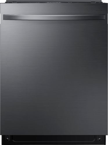 Samsung - StormWash™ Top Control Built-In Dishwasher with Stainless Steel Tub, 3rd Rack, 42 dBA - Black stainless steel