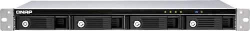 QNAP - 4-Bay Rack-mountable Network Storage (NAS) RAID expansion enclosure with 4 drive baysUSB 3.0 Type-C portLockable hard drive trays1U rack-mountable housingSupports RAID 0, RAID 1, RAID 5, RAID 10, JBOD, and Software Ctrl