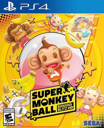 Super Monkey Ball: Banana Blitz HD - PlayStation 4