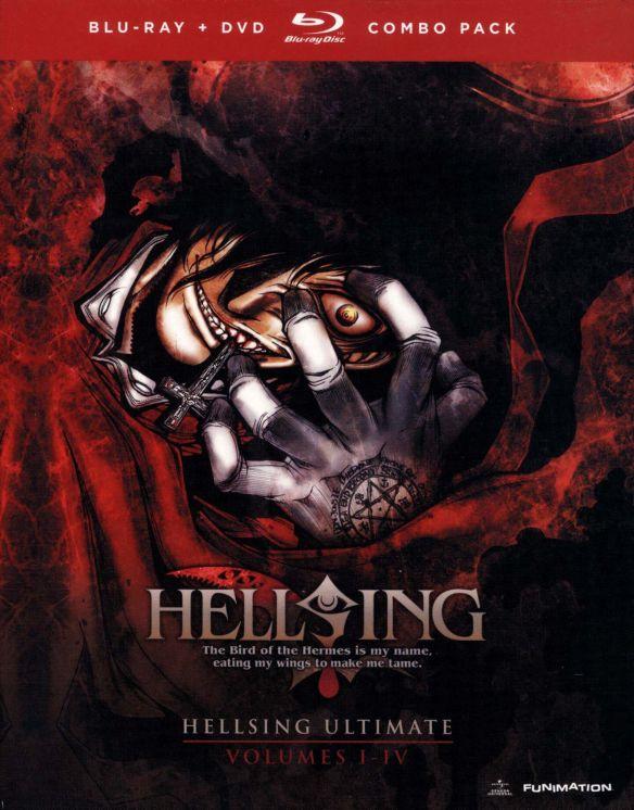 Hellsing Ultimate, Vols. 1-4 [5 Discs] [Blu-ray/DVD] 6364402