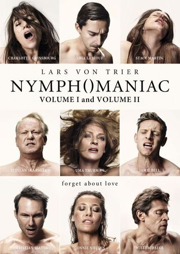 Nymphomaniac: Volume I/Nymphomaniac: Volume II [2 Discs] [DVD] 6368116