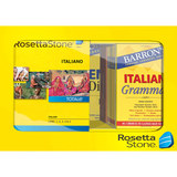 Rosetta Stone Version 4: Italian Level 1-5 Set Bundle Windows|Mac ROS228800F107