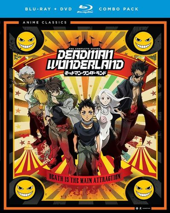 Deadman Wonderland: The Complete Series [4 Discs] [Blu-ray/DVD] 6385128