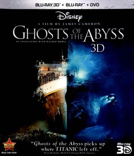 Ghosts of the Abyss [3D] [Blu-ray/DVD] [Blu-ray/Blu-ray 3D/DVD] [2003] 6388435
