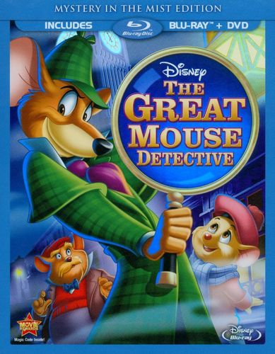 The Great Mouse Detective [Blu-ray] [1986] 6410086