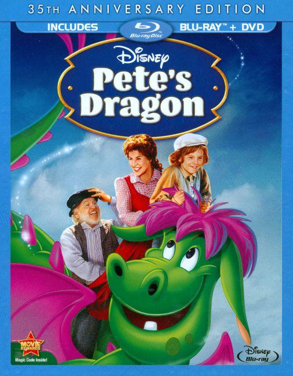 Pete's Dragon [35th Anniversary Edition] [2 Discs] [Blu-ray] [1977] 6410095