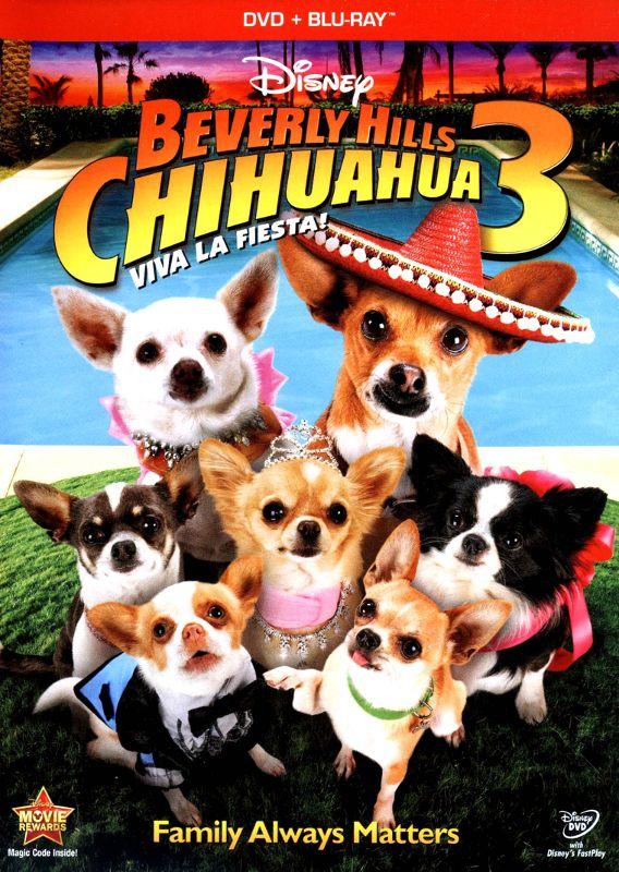 Beverly Hills Chihuahua 3: Viva La Fiesta! [2 Discs] [DVD/Blu-ray] [Blu-ray/DVD] [2012] 6410165