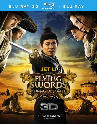 Flying Swords of Dragon Gate [2 Discs] [3D] [Blu-ray] [Blu-ray/Blu-ray 3D] [2011] 6410244