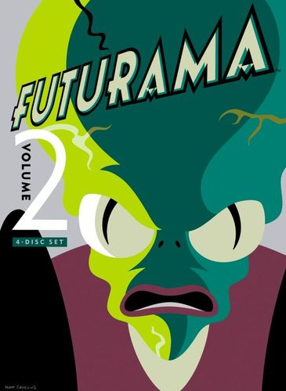 Futurama, Vol. 2 [4 Discs] [DVD]