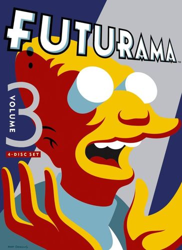 Futurama, Vol. 3 [4 Discs] [DVD] 6410896