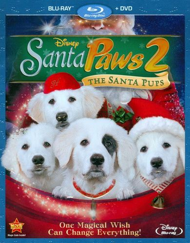 Santa Paws 2: The Santa Pups [2 Discs] [Blu-ray/DVD] [2012] 6411313