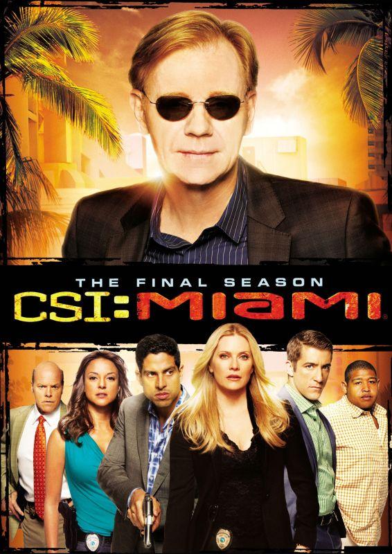 CSI: Miami: The Tenth and Final Season [5 Discs] [DVD]