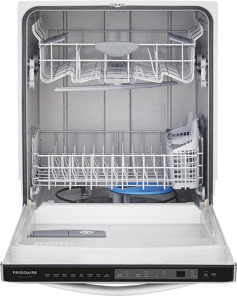 """Frigidaire FGID2466QF Gallery 24"""" Tall Tub Built-In Dishwasher Stainless Steel"""
