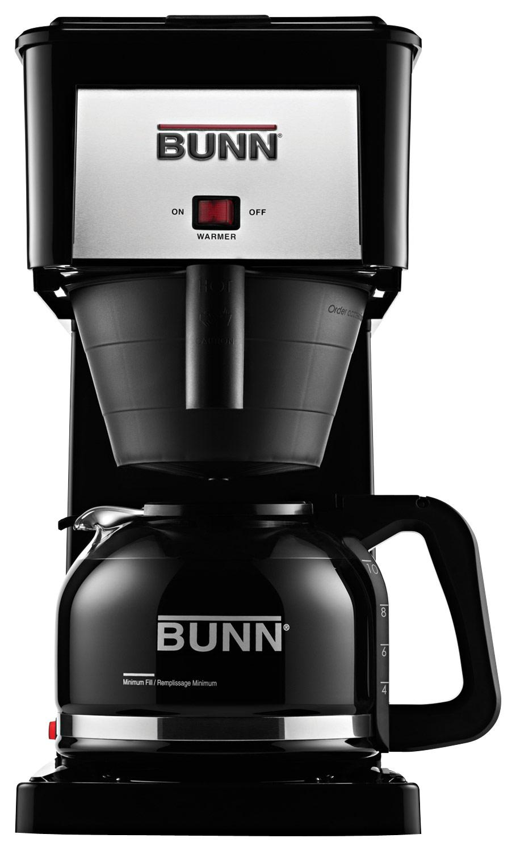 BUNN - Velocity Brew High Altitude 10-Cup Coffeemaker - Black 6417113