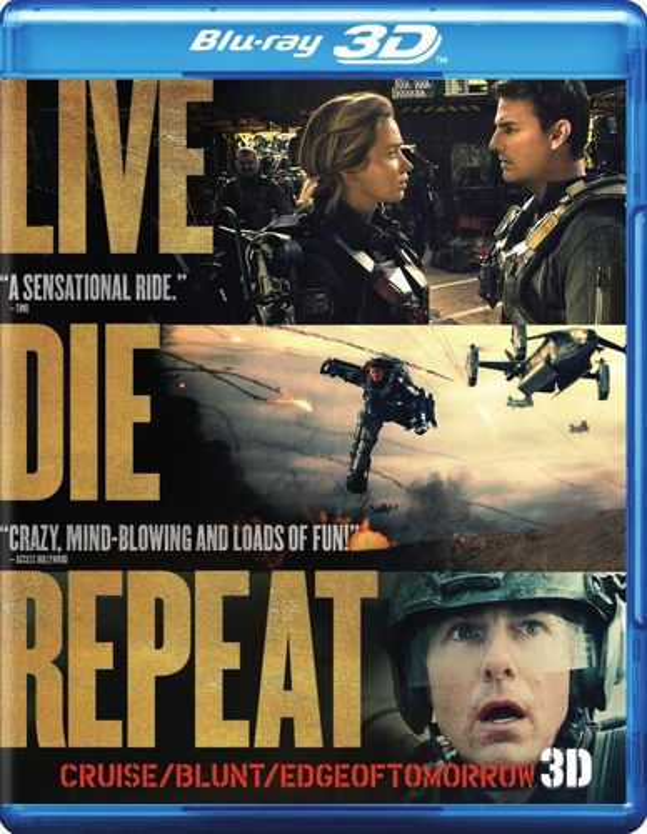 Live Die Repeat: Edge of Tomorrow [3D] [Blu-ray] [Blu-ray/Blu-ray 3D] [2014] 6435018