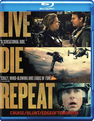 Live Die Repeat: Edge of Tomorrow [Blu-ray] [2014] 6435054