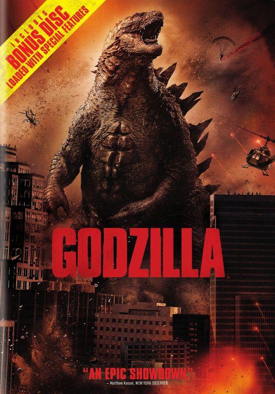 Godzilla [2 Discs] [Includes Digital Copy] [UltraViolet] [DVD] [2014] 6435072