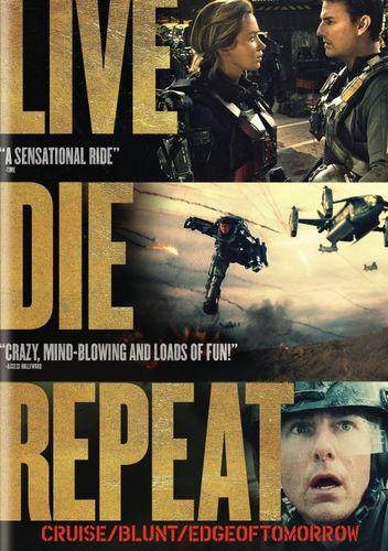 Live Die Repeat: Edge of Tomorrow [DVD] [2014] 6435105